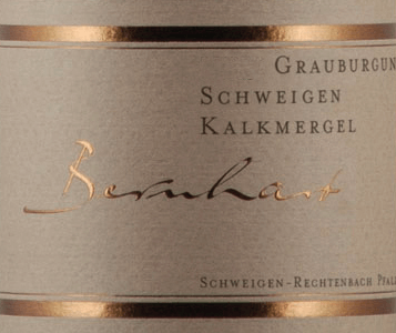 Schweigener Grauburgunder Kalkmergel 2019 - Bernhart von Bernhart