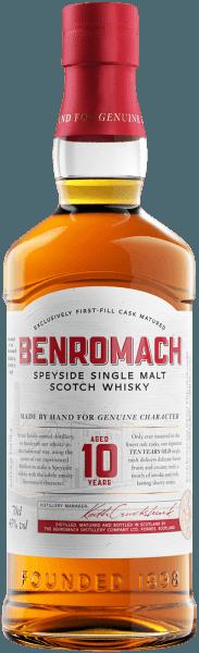 Benromach 10 years old Single Malt Scotch Whisky - Benromach Distillery