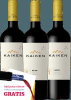 Vorschau: 3er Vorteils-Weinpaket - Kaiken Malbec 2019 - Viña Kaiken