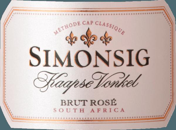 Kaapse Vonkel Brut Rosé Methode Cap Classique 2018 - Simonsig von Simonsig
