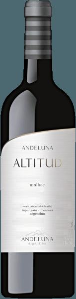 Malbec Altitud Tupungato Mendoza 2016 - Andeluna Cellars