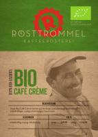 Bio Café Crème - Rösttrommel Kaffeerösterei