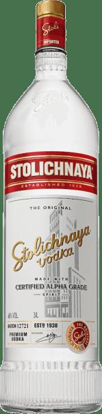 Stolichnaya Vodka 3 l Jeroboam - Stolichnaya