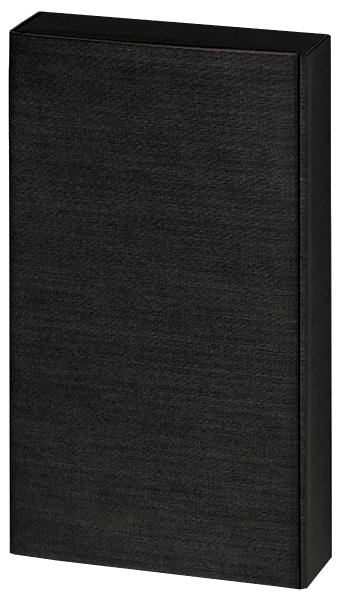 2er Präsentkarton - schwarze Leinenoptik