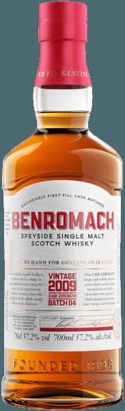 Benromach Cask Strength 2009 Speyside Single Malt Scotch Whisky - Benromach Distillery