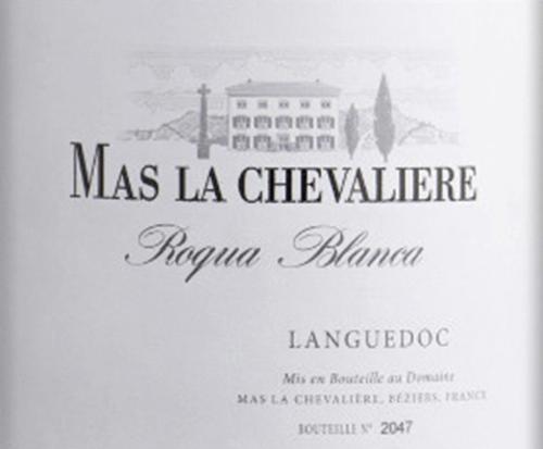 Mas La Chevalière Roqua Blanca 2016 - Laroche von Laroche