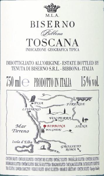 Biserno Toscana Rosso IGT 2017 - Tenuta di Biserno von Tenuta di Biserno
