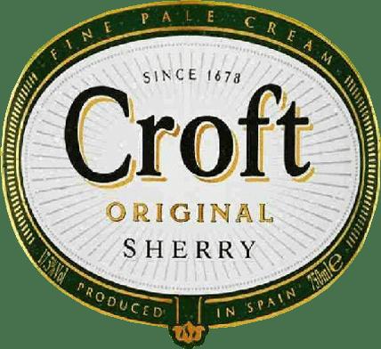 Croft Original Pale Cream Sherry - Gonzalez Byass von Gonzalez Byass S.A.