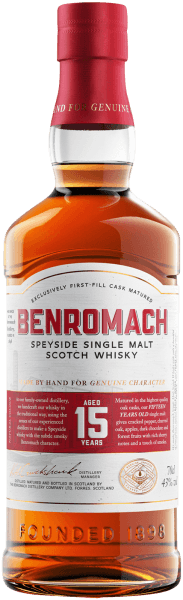 Benromach 15 years old Single Malt Scotch Whisky - Benromach Distillery