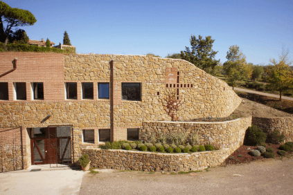 Die Kellerei von Poggio Salvi
