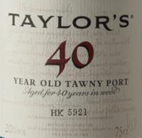 Vorschau: Tawny 40 Years Old - Taylor's Port