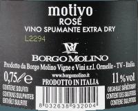 Vorschau: Motivo Rosé extra dry - Borgo Molino