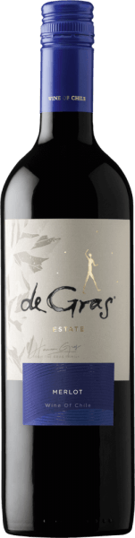De Gras Merlot Central Valley 2019 - Viña MontGras