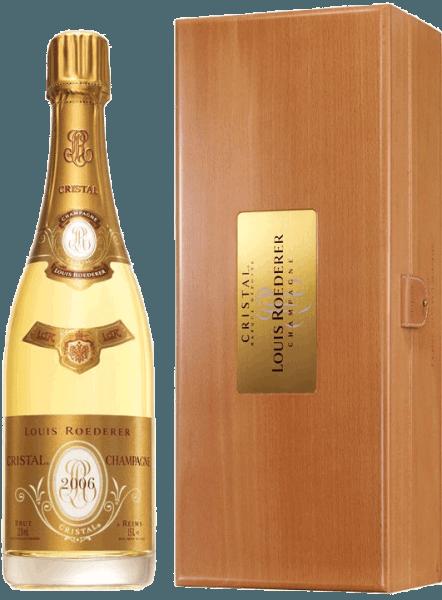 Roederer Cristal Brut 1,5 l Magnum in Holzkiste 2007 - Champagne Louis Roederer