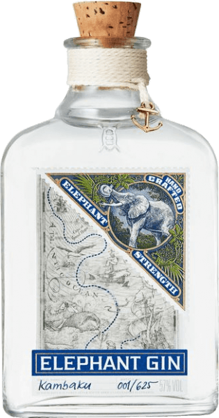 Elephant Strength Gin 0,5 l - Elephant Gin Ltd.