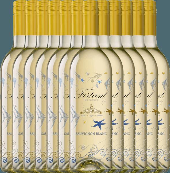 12er Vorteils-Weinpaket - Sauvignon Blanc serigrafiert 2019 - Fortant de France