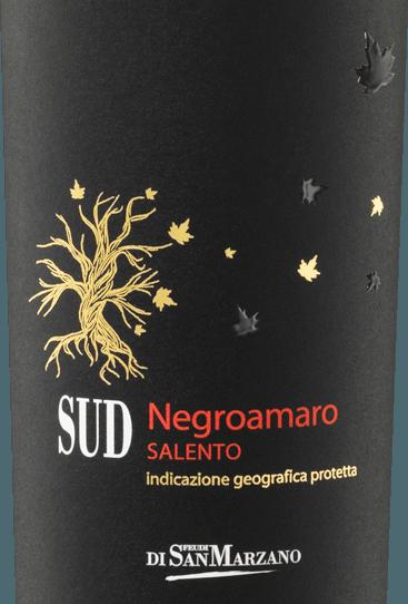 6er Vorteils-Weinpaket - SUD Negroamaro 2019 - Cantine San Marzano von Cantine San Marzano