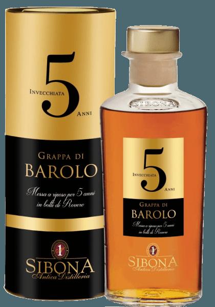 La Grappa di Barolo Riserva 5 Anni - Linea Graduata - Sibona