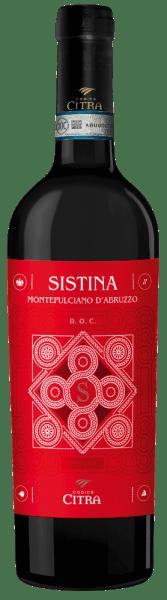 Sistina Montepulciano d'Abruzzo DOC 2018 - Citra Vini