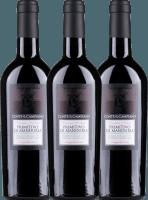 3er Vorteils-Weinpaket Primitivo di Manduria DOC 2018 - Conte di Campiano