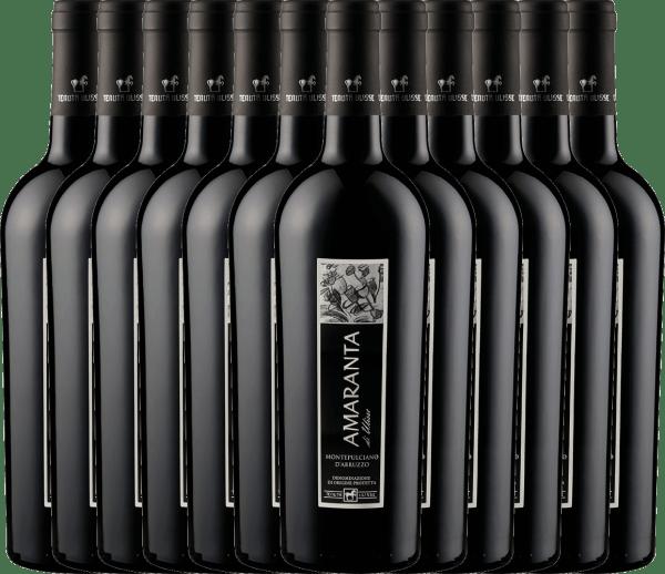 12er Vorteils-Weinpaket - AMARANTA Montepulciano d'Abruzzo DOC 2018 - Tenuta Ulisse