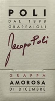 Amorosa di Dicembre Grappa 0,5 l - Jacopo Poli von Jacopo Poli