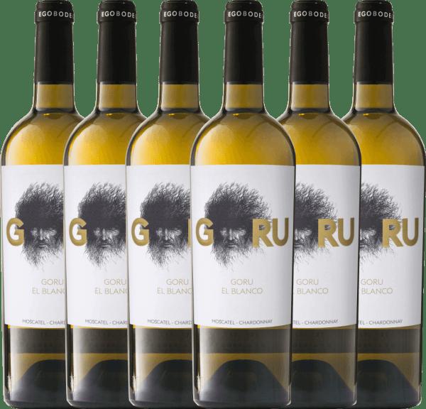 6er Vorteils-Weinpaket - Goru El Blanco 2019 - Ego Bodegas