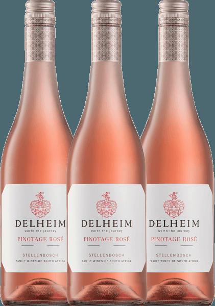 3er Vorteils-Weinpaket - Delheim Pinotage Rosé 2021 - Delheim