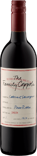 The Family Coppola Paso Robles Cabernet 2017 - Francis Ford Coppola Winery