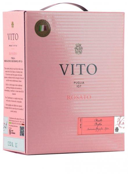 Weinschlauch Vito Rosato Puglia IGT 3,0 l Bag in Box - Mondo del Vino
