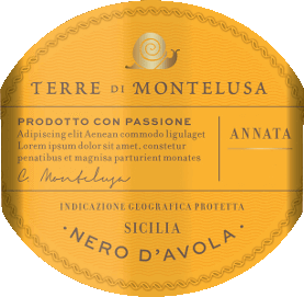 Nero d'Avola Sicilia DOC 2019 - Terre di Montelusa von Terre di Montelusa