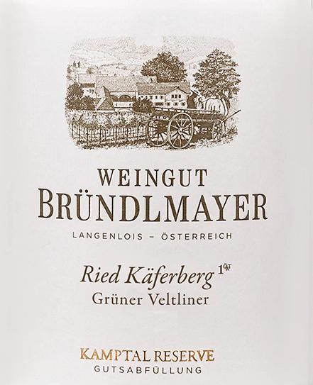 Grüner Veltliner Reserve Käferberg 2017 - Bründlmayer von Weingut Bründlmayer