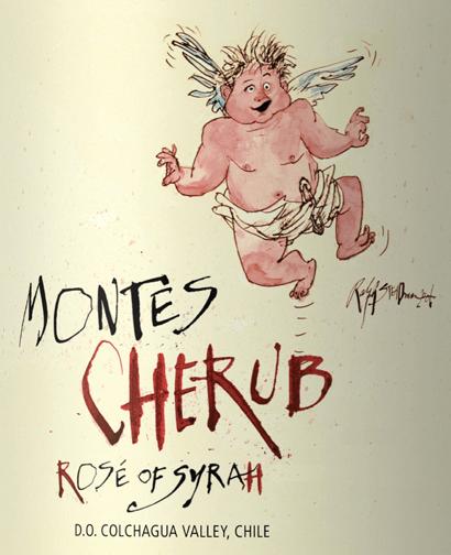 Cherub Rosé of Syrah 2019 - Montes von Montes Chile