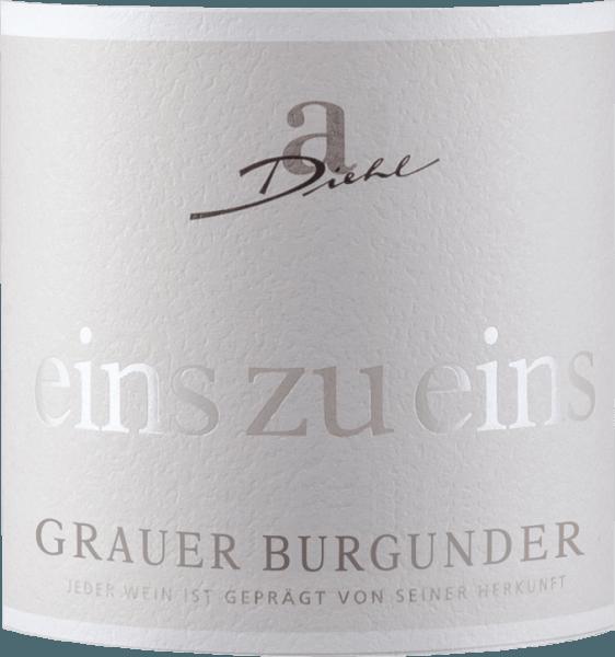 Grauer Burgunder eins zu eins Kabinett trocken 2019 - A. Diehl von Weingut A. Diehl