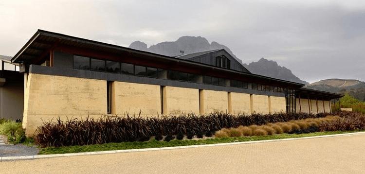 Das Weingut Neil Ellis in Stellenbosch