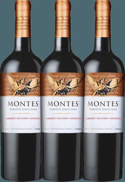 3er Vorteils-Weinpaket - Limited Selection Cabernet Sauvignon Carmenère 2019 - Montes