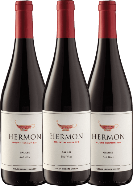 3er Paket - Mount Hermon Red 2020 - Golan Heights Winery
