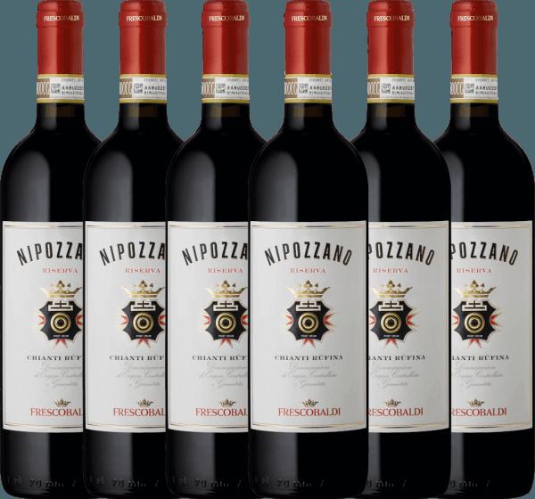 6er Vorteils-Weinpaket - Nipozzano Riserva Chianti Rufina DOCG 2017 - Castello di Nipozzano