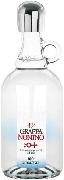 Grappa Nonino 43° Klares Destillat - Nonino Distillatori