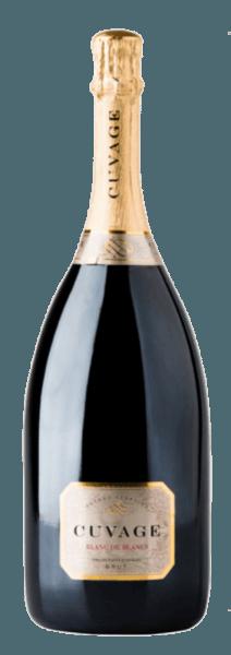 Der Cuvage Blanc de Blancs von Cuvage zeigt sich im Glas in einem hellen Strohgelb und mit einer feinen Perlage. Dabei entfalten sich die herrlichen Aromen von Trockenobst und Brioche. Am Gaumen beeindruckt dieser Schaumwein mit seiner großartigen Struktur und seiner Weichheit mit einem anhaltenden und ausgewogenen Finale. Vinifikation des Cuvage Blanc de Blancs Dieser Schaumwein wurde zu 100% aus Chardonnay mit der Methodo Classico vinifiziert. Nach einem zweijährigen Lager auf den Hefen ist dieser Schaumwein fertig. Speiseempfehlung für den Cuvage Blanc de Blancs Genießen Sie diesen italienischen Schaumwein als Aperitif, zu Gemüse oder gereiftem Käse.