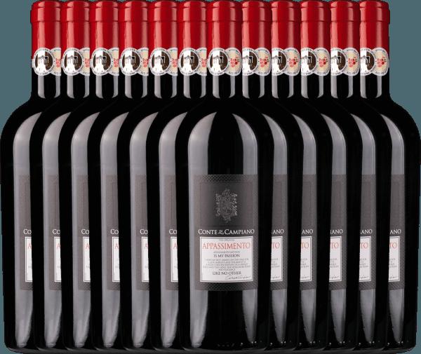 12er Vorteils-Weinpaket - Appassimento 2020 - Conte di Campiano