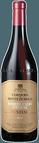 Dieser intensive, vielschichtige und sortenreine Barbera zählt zu den ganz großen Weinen aus dem Piemont. Dieser reinsortige Rotwein verzückt mit seinem unbeschreiblich vollfruchtigen Geschmack nach Lakritze, Schokolade und Kirschen.Eine körperreiche, erdige Struktur, ein kräftiger Charakter und die hervorragend intengrierten, geschmeidigen Tannine krönen diesen Superiore. Food Pairing / Speisenempfehlung für denBarbera d'Alba Superiore Funtani DOC von Cordero di MontezemoloWir empfehlen ihn zu typisch piemontesischen Kochfleisch mit verschiedenen Saucen, zu Rinderschmorbraten und zu Kochwürsten mit Linsen. Zudem harmoniert er ausgezeichnet mit 'Bagna Caoda' (typisches Knoblauchgericht) und Entenragout. Auszeichnungen für denBarbera d'Alba Superiore Funtani DOC von Cordero di MontezemoloBibenda: 4 Trauben (Jg. 12)Parker Punkte - Wine Advocate: 91 Pkt. (Jg. 10)James Suckling: 93 Pkt. (Jg. 12), 90 Pkt. (Jg. 10)