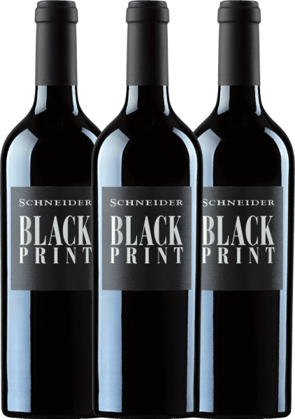 3er Vorteils-Weinpaket - Black Print trocken 2018 - Markus Schneider