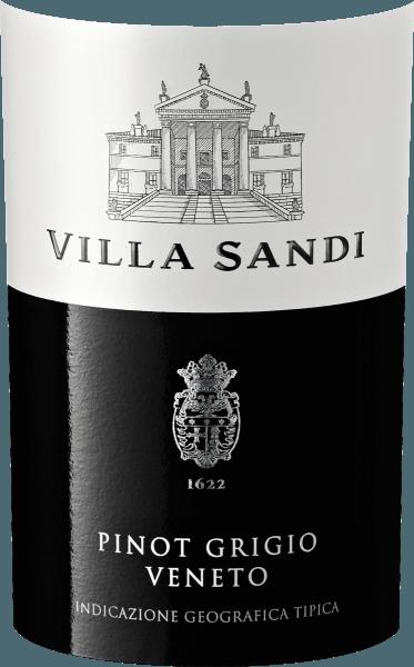 Der Pinot Grigio delle Venezie aus der Weinbau-Region Venetien präsentiert sich im Glas in brillant schimmerndem Kupfergold. Die Nase dieses Weißweins aus Venetiens verführt mit Nuancen von Nashi-Birne, Maulbeere, Physalis und Sternfrucht. Spüren wir der Aromatik weiter nach, kommen Garrigue, Krokant und Waldboden hinzu. Dieser trockene Weißwein von Villa Sandi ist perfekt für Weingenießer, die am besten 0,0 Gramm Zucker im Wein hätten. Der Pinot Grigio delle Venezie kommt dem bereits sehr nahe, wurde er doch mit gerade einmal 5,9 Gramm Restzucker vinifiziert. Am Gaumen präsentiert sich die Textur dieses leichtfüßigen Weißweins wunderbar dicht. Durch seine lebendige Fruchtsäure zeigt sich der Pinot Grigio delle Venezie am Gaumen beeindruckend frisch und lebendig. Im Abgang begeistert dieser lagerfähige Weißwein aus der Weinbauregion Venetien schließlich mit beachtlicher Länge. Erneut zeigen sich wieder Anklänge an Ananas und Apfel. Vinifikation des Pinot Grigio delle Venezie von Villa Sandi Dieser Weißwein legt den Fokus klar auf eine Rebsorte, und zwar auf Grauburgunder. Für diesen wunderbar eleganten reinsortigen Wein von Villa Sandi wurde nur makelloses Lesegut verwendet. Nach der Lese gelangen die Weintrauben zügig ins Presshaus. Hier werden Sie sortiert und behutsam aufgebrochen. Anschließend erfolgt die Gärung im Edelstahltank bei kontrollierten Temperaturen. Nach dem Ende der Gärung kann sich der Pinot Grigio delle Venezie für einige Monate auf der Feinhefe weiter harmonisieren.. Speiseempfehlung für den Pinot Grigio delle Venezie von Villa Sandi Trinken Sie diesen Weißwein aus Italien idealerweise sehr gut gekühlt bei 5 - 7°C als Begleiter zu gebratene Forelle mit Ingwer-Birne, Lauchsuppe oder Kohl-Rouladen.