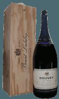 Cremant Saphir Saumur Brut 6,0 l Methusalem in Holzkiste - Bouvet Ladubay