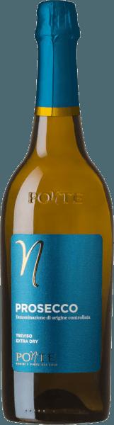Der Prosecco Spumante Treviso DOC Extra Dryvon Ponte Viticoltori repräsentiert perfekt die Welt des Prosecco. Hellgelb im Glas mit grünlichen Reflexen. Die Nase besitzt ein wunderbares florales Bouquet. Hinzu kommen saftige und fruchtige Noten nach Apfel und Birne. Hinzu kommt ein angenehmer Zitrusduft. Der Gaumen ist angenehm leicht durch den moderaten Alkoholgehalt von 11 % vol. Food pairing / Speiseempfehlung für den Prosecco Spumante Treviso DOC Extra Dryvon Ponte Viticoltori Dieser Prosecco aus Venetien passt ausgezeichnet als Aperitif, aber auch zu leichten Nudelgerichten mit Käse- oder Gemüsesoßen und zu zarten Gerichten mit hellem Fleisch.