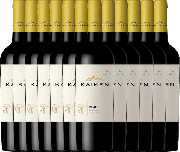 Der Kaiken Malbec ist ein aromatischer Rotwein aus Argentinien, dessen jugendliche Eleganz auf einer außergewöhnlichen Balance zwischen Frucht, samtenen Tanninen und knackiger Fruchtsäurestruktur basiert. Sie erhalten unseren argentinischen Bestseller nun im praktischen 12er Paket. Mehr zu diesem trockenen Wein erfahren Sie im Einzelartikel des Kaiken Malbec.
