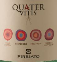 Vorschau: Quater Rosso Sicilia IGT 2015 - Firriato
