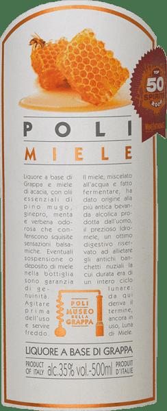 Poli Miele Museo della Grappa 0,5 l - Jacopo Poli von Jacopo Poli