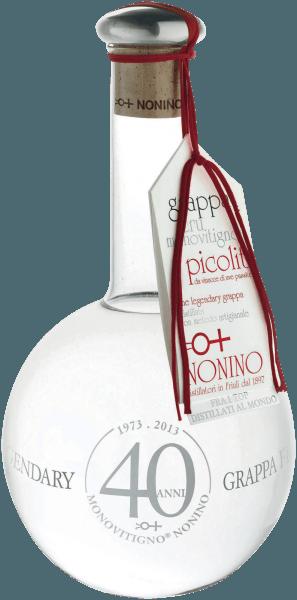 Grappa Di Picolit Cru Monovitigno Savorgnano 0,5 l 2018 - Nonino Distillatori